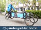 Werbung mit dem Fahrrad – Kontrast.Mittel